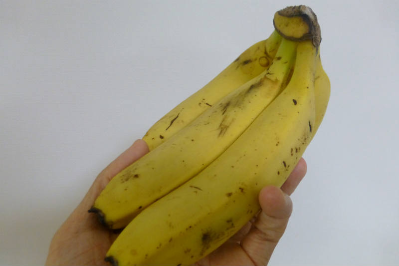 朝バナナで便秘解消