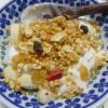 朝バナナで便秘解消。バナナとヨーグルトとグラノーラが作ったビフィズス菌と食物繊維の良い関係。
