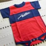 鹿島アントラーズ公式ベビーセットで息子に鹿魂とジーコイズムを早めに注入しておく件