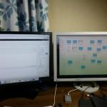 macmini(late2014)をデュアルディスプレイ化。DVIケーブルと変換アダプタをつなぐだけで快適デスクトップ環境