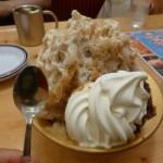 【オススメかき氷2016】コメダ珈琲の巨大かき氷にコーヒーゼリー&ソフトクリーム乗せ!